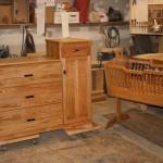 Dresser Change table & Cradle