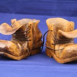 Pair of Carved Boots