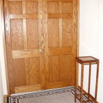Solid Oak front doors