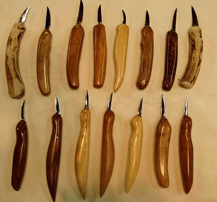 Wood Carving Knives: » McAnulty Woodworking