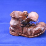 walnut shoe