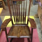 Carol's walnut Rocking chair