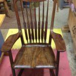 Carol's walnut Rocking chair