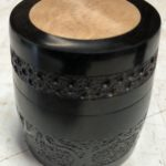 Embelished with trees & Maple inlay